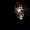 Record-Eagle file photo/Jan-Michael Stump<br /> Fourth of July fireworks explode over downtown Traverse City in 2011.