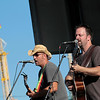 Record-Eagle/Jan-Michael Stump<br /> Jason Elsenheimer and Nick Foresman perform on the Cherry Blast Stage Wednesday during the National Cherry Festival.