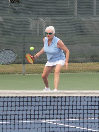 Record-Eagle/Dennis Chase<br /> Women's Sunshine Tennis League