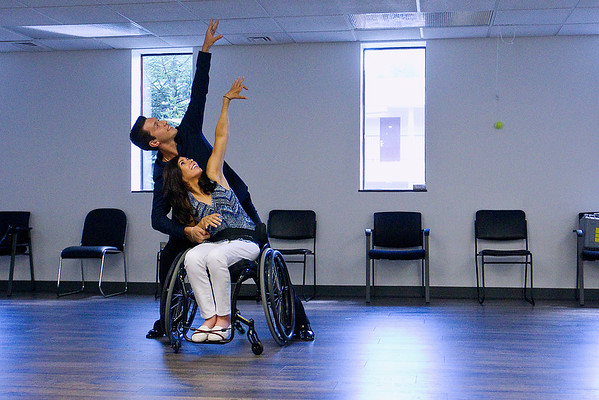 WHEELCHAIR BALLROOM DANCE CLASS