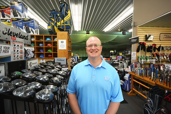 Record-Eagle/Dan Nielsen<br /> Toby Boynton-Fisher recently purchased the Traverse City Golf Center on Secor Road.