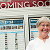 """Record-Eagle/Jan-Michael Stump<br /> Connie Barrow plans to see over a dozen films at the Traverse City Film Festival, including the tough ticket Michael's Surprise, after winning an all-access pass to this year's festival. I'll probably see as many as I possibly can,"""" she said."""