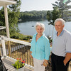 Record-Eagle/Keith King<br /> Traverse City residents Gary and Sheila Sherwin retreat to their cottage on Davis Lake in Kasson Township during busy summers.
