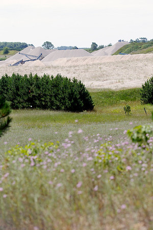 Record-Eagle/Jan-Michael Stump<br /> Gravel pits, like this one off Kasson Center Road in Leelanau County's Kasson Township, could have fewer local zoning restrictions under a new state law.