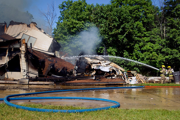SUTTONS BAY HOUSE FIRE