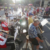 Record-Eagle/Keith King<br /> The Front Street Jazz Band performs Friday, August 2, 2013 during Friday Night Live in downtown Traverse City.
