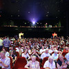 "Record-Eagle/Keith King<br /> Attendees find their seats and sit in the State Theatre Tuesday, July 30, 2013 for the Traverse City Film Festival opening night movie, ""Blue Jasmine."""