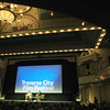 Record-Eagle/Jan-Michael Stump<br /> Susan Sarandon and Michael Moore talk during a Traverse City Film Festival panel Wednesday at the City Opera House.