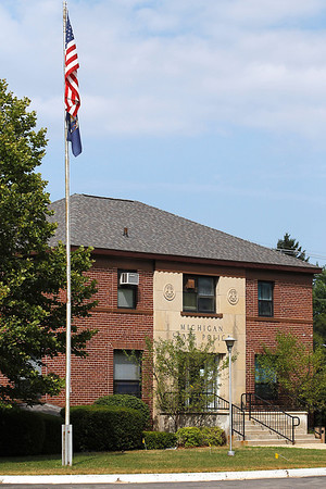 Record-Eagle/Jan-Michael Stump<br /> The Michigan State Police 7th District headquarters may move to the 14th Street post in Traverse City.