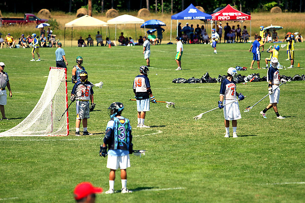 Record-Eagle/Keith King<br /> Some 101 teams from seven states competed in The Cherry Bomb Lacrosse Tournament.