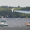 Record-Eagle/Keith King<br /> Billy Werth performs over West Grand Traverse Bay during the 88th National Cherry Festival Air Show.z