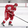Record-Eagle/Keith King<br /> Brendan Smith skates Saturday during the opening day of the Detroit Red Wings Skills Development Camp.