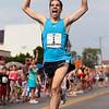 Record-Eagle/Jan-Michael Stump<br /> Daniel Clark wins the men's Golden Mile during Saturday's National Cherry Festival's Festival of Races.