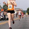Record-Eagle/Jan-Michael Stump<br /> Betsy Graney wins the women's Golden Mile Saturday's National Cherry Festival's Festival of Races.