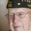 Record-Eagle/Keith King<br /> World War II veteran Richard Rizzio, of Traverse City.