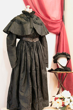 Record-Eagle/Jan-Michael Stump<br /> A black wedding dress, once a common style in the 1800s when the cost of a dress meant brides would wear their dress for more than just their wedding.