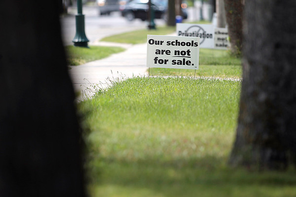 Record-Eagle/Jan-Michael Stump<br /> Kingsley Area Schools is considering privatizing custodial, food service and busing operations.