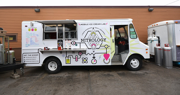 Record-Eagle/Dan Nielsen<br /> The Nitrology food truck at The Little Fleet.