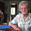 Record-Eagle/Nathan Payne<br /> Phyllis Garn, 91, is the only surviving member of a six-person group that first blazed a 220-mile-long horse and hiking trail across northern Michigan from Lake Huron to Lake Michigan.