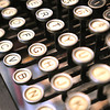 Record-Eagle/Nathan Payne<br /> Saturday afternoon typewriter enthusiasts will gather in the hallway outside Landmark Books at The Village at the Grand Traverse Commons for a type-in.