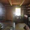 Record-Eagle/Keith King<br /> The interior of the Hessler log home at Lighthouse Park on Old Mission Peninsula.