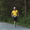 Record-Eagle/Keith King<br /> Iowa's Steve Cannon runs along the TART Trail on Friday, continuing his quest to run a 1,037-mile route around Lake Michigan in 40 days to raise money to cure cancer. Cannon started in Chicago and has already been through Wisconsin and the Upper Peninsula.