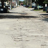 Record-Eagle/Jan-Michael Stump<br /> Traverse City approved a special improvement district to pave the alley south of the 400 block of East Front Street.
