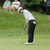 Record-Eagle/Keith King<br /> Inhong Lim putts the ball Wednesday, June 26, 2013 during the Michigan PGA Women's Open at Crystal Mountain Resort and Spa in Thompsonville.