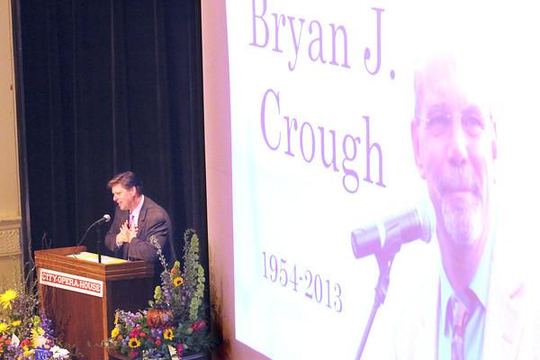BRYAN CROUGH MEMORIAL