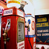 Record-Eagle/Loraine Anderson<br /> The Taghon Corner Gas Station exhibit at the Empire Area History Museum.