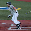 Record-Eagle/Jan-Michael Stump<br /> Beach Bums DH Chase Burch became the tema;'s all-time hit leader on Monday. The Beach Bums also beat the London Rippers, 4-1, to complete a three-game sweep.