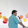 Record-Eagle/Jan-Michael Stump<br /> Warren Byrd Jr., principal at Nelson Byrd Woltz Landscape Architects, talks about plans for The Botanic Garden of Northwest Michigan, planned on the grounds of the Village at Grand Traverse Commons.
