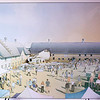 Record-Eagle/Jan-Michael Stump<br /> An artist's renderings of potential plans for the historic barns at the Village at Grand Traverse Commons.
