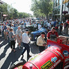 Record-Eagle/Keith King<br /> People and classic automobiles fill Front Street before the start of the 2012 Great Race.