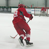 Record-Eagle/Chris Dobrowolski<br /> Detroit Red Wings forward Anthony Mantha skates up the ice during a workout on Friday at Red Wings Development Camp at Centre ICE Arena.