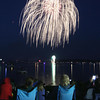 Record-Eagle/Keith King<br /> Fourth of July fireworks take place Thursday, July 4, 2013 at West Grand Traverse Bay in Traverse City.