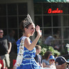 Record-Eagle/Keith King<br /> 2012-2013 National Cherry Queen Meg Howard waves Thursday, July 4, 2013 in the Junior Royale Parade during the 87th National Cherry Festival in Traverse City.