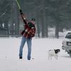 SNOWY FETCH