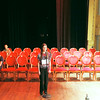 "Record-Eagle/Jan-Michael Stump<br /> Nicole Blakkan-Esser spells ""genesis,"" to win the 2011 Grand Traverse Regional Spelling Bee on Sunday at the City Opera House."