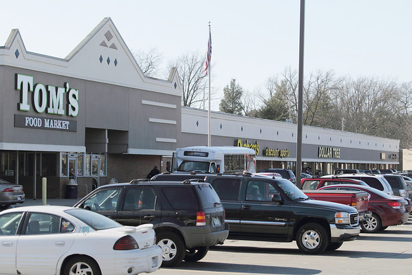 Record-Eagle/Keith King<br /> East Bay Plaza in Traverse City may receive funds for a redevelopment project.