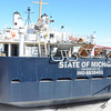 Record-Eagle/Allison Batdorff<br /> The Captain's Dinner and Ship tour will include a look at the T/S State of Michigan, a former Navy surveillance vessel that was overhauled for use in the <br /> Great Lakes Maritime Academy's cadet training.