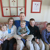 Record-Eagle/Keith King<br /> Wayne and Heidi Mueller sit with their children Lauren Mueller, from left, 4, Joshua Mueller, 6, Ben Mueller, 12, and Owen Mueller, 10, Thursday, March 28, 2013 in Traverse City.