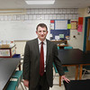 Record-Eagle/Keith King<br /> Sander Scott, Traverse City Area Public Schools Chief of Schools, stands Wednesday, March 20, 2013 at Traverse City East Middle School.