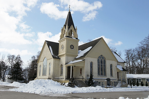 Record-Eagle/Keith King<br /> Elk Rapids United Methodist Church is closing its doors today and will merge with the Williamsburg United Methodist Church.