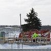 Record-Eagle/Keith King<br /> A new air-traffic control tower is under construction at the Cherry Capital Airport.