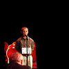 Record-Eagle/Jan-Michael Stump<br /> Jack Pasche spells a word in one of the last rounds of the 2011 Grand Traverse Regional Spelling Bee at the City Opera House. Pasche finished third.