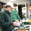 Record-Eagle/Allison Batdorff photos<br /> Evergreen Market is a father-son business. Paul Pineau, left, runs the operational side, and Alex Pineau, right, has the business vision.