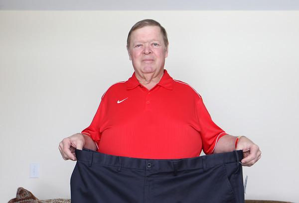 JACK PICKARD'S WEIGHT LOSS