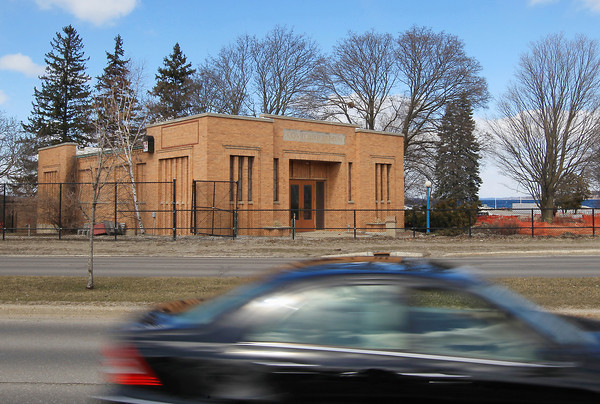 Record-Eagle/Keith King<br /> The Con Foster Museum building stands Tuesday, April 2, 2013 in Traverse City's Clinch Park.