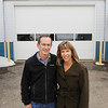 Record-Eagle/Keith King<br /> Mike and Kim Babcock, owners, stand Tuesday, March 26, 2013 at Trend Services in Kalkaska.